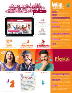 Catalogue Picwic France Guide Des Jeux 2018 page 3