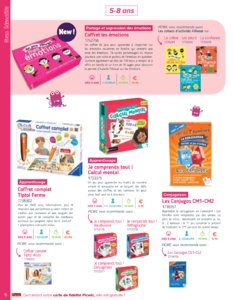 Catalogue Picwic France Guide Des Jeux 2018 page 6