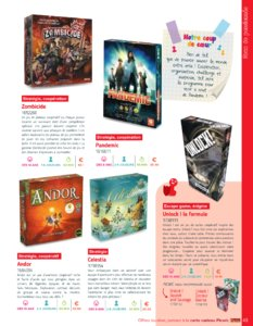 Catalogue Picwic France Guide Des Jeux 2018 page 43