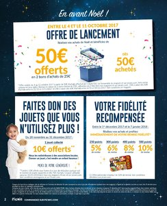 Catalogue Picwic Noël 2017 page 2