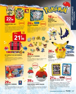 Catalogue Picwic Noël 2017 page 107