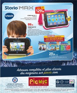 Catalogue Picwic Noël 2017 page 160