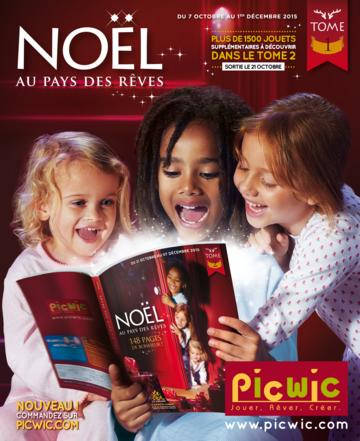 Catalogue Picwic Noël 2015 Tome 1