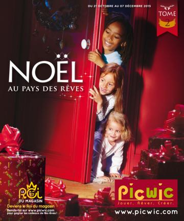 Catalogue Picwic Noël 2015 Tome 2
