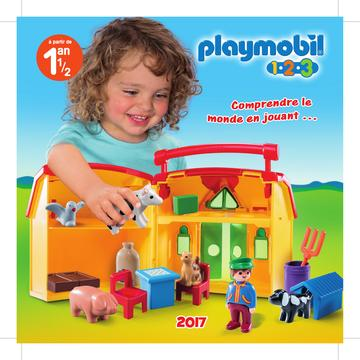 Catalogue Playmobil 1.2.3 France 2017