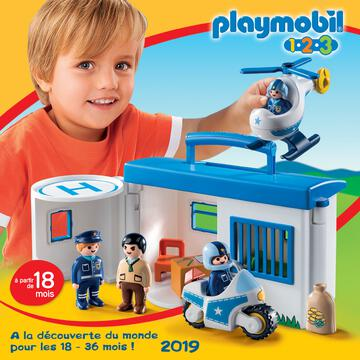 Catalogue Playmobil 1.2.3 France 2019