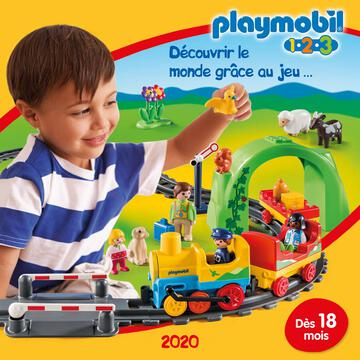 Catalogue Playmobil 1.2.3 France 2020