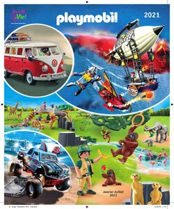 Catalogue Playmobil 2021 page 1