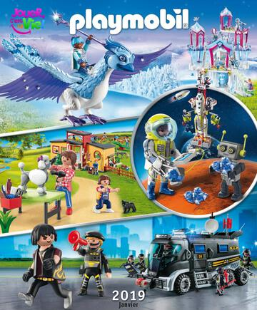 Catalogue Playmobil Janvier 2019