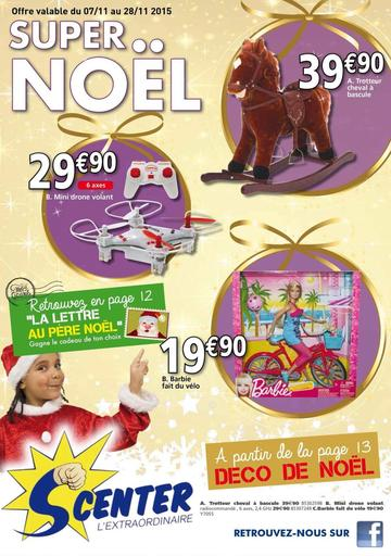 Catalogue S Center La Réunion Noël 2015