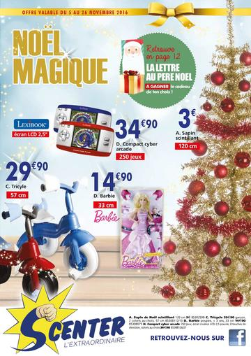 Catalogue S Center La Réunion Noël 2016