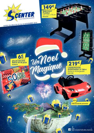 Catalogue S Center La Réunion Noël 2019