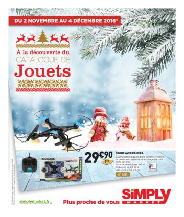 Catalogue Simply Market Noël 2016