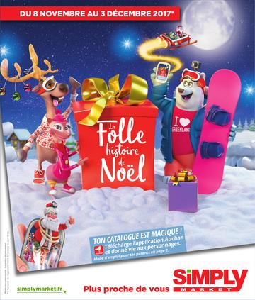Catalogue Simply Market Noël 2017