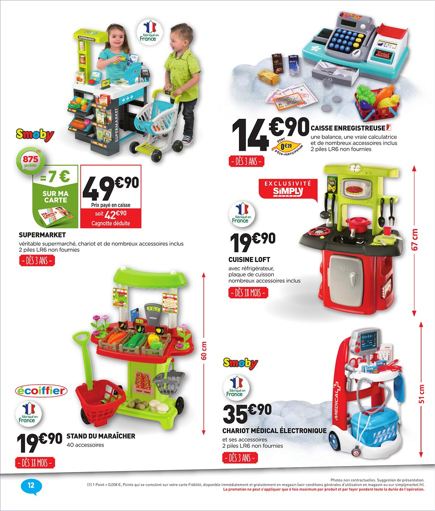 catalogue simply market no l 2017 catalogue de jouets. Black Bedroom Furniture Sets. Home Design Ideas