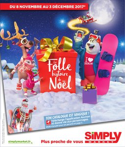 Catalogue Simply Market Noël 2017 page 1