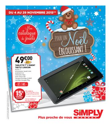 Catalogue Simply Market Noël 2015