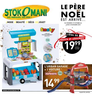 Catalogue Stokomani Noël 2018