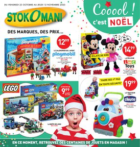 Catalogue Stokomani Noël 2020 page 1