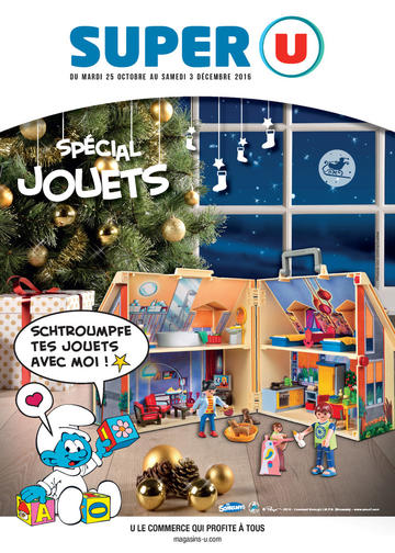 Catalogue Super U France Noël 2016