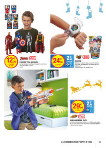 Catalogue Super U France Noël 2016 page 19