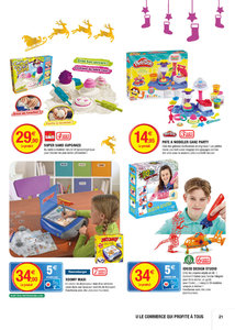 Catalogue Super U France Noël 2016 page 21