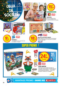Catalogue Super U France Noël 2016 page 22