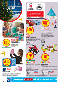 Catalogue Super U France Noël 2016 page 26