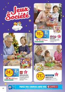 Catalogue Super U France Noël 2017 page 42