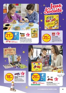 Catalogue Super U France Noël 2017 page 49