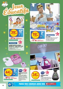 Catalogue Super U France Noël 2017 page 50