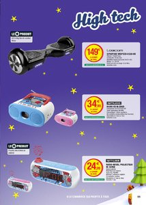 Catalogue Super U France Noël 2017 page 55