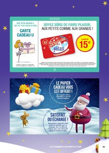 Catalogue Super U France Noël 2017 page 59