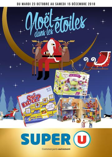 Catalogue Super U France Noël 2018 (catalogue plus gros)
