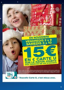 Catalogue Super U France Noël 2018 (catalogue plus gros) page 3