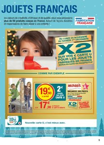 Catalogue Super U France Noël 2018 (catalogue plus gros) page 5