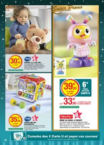 Catalogue Super U France Noël 2018 (catalogue plus gros) page 10