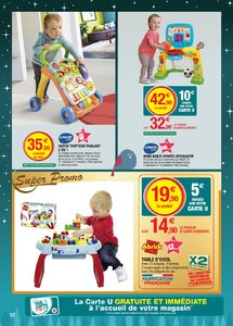 Catalogue Super U France Noël 2018 (catalogue plus gros) page 12