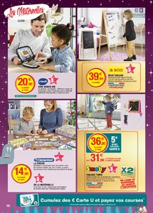 Catalogue Super U France Noël 2018 (catalogue plus gros) page 16