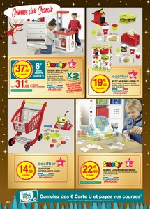 Catalogue Super U France Noël 2018 (catalogue plus gros) page 20
