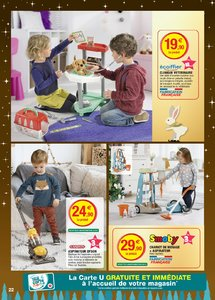 Catalogue Super U France Noël 2018 (catalogue plus gros) page 22