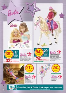 Catalogue Super U France Noël 2018 (catalogue plus gros) page 32