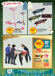 Catalogue Super U France Noël 2018 (catalogue plus gros) page 70