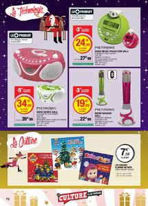 Catalogue Super U France Noël 2018 (catalogue plus gros) page 72