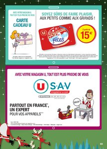 Catalogue Super U France Noël 2018 (catalogue plus gros) page 83