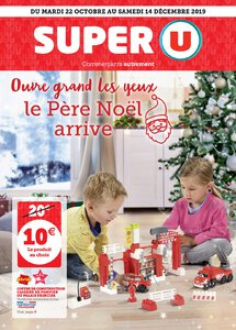 Catalogue Super U France Noël 2019 page 1