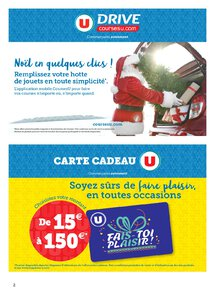 Catalogue Super U France Noël 2019 page 2