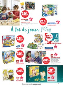 Catalogue Super U France Noël 2019 page 21