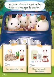 Catalogue Sylvanian Families 2014 page 20