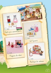 Catalogue Sylvanian Families 2014 page 27